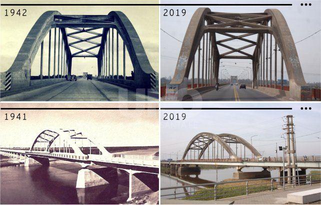 Antes y Después. 77 y 78 años después