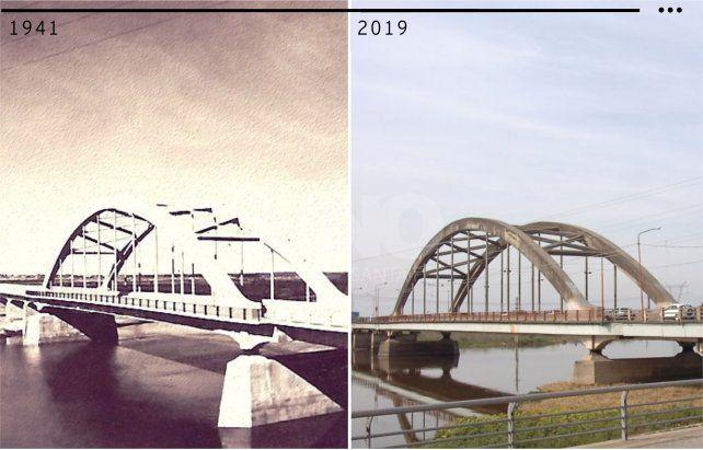 Antes y después. 78 años después, el Carretero luce igual.