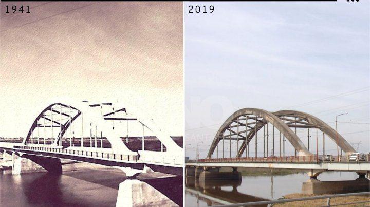 Antes y después. 78 años después