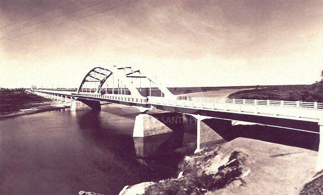 Año 1941. El puente carretero, hace 78 años.