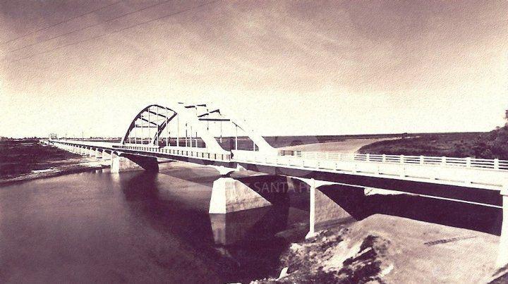 Año 1941. El puente carretero