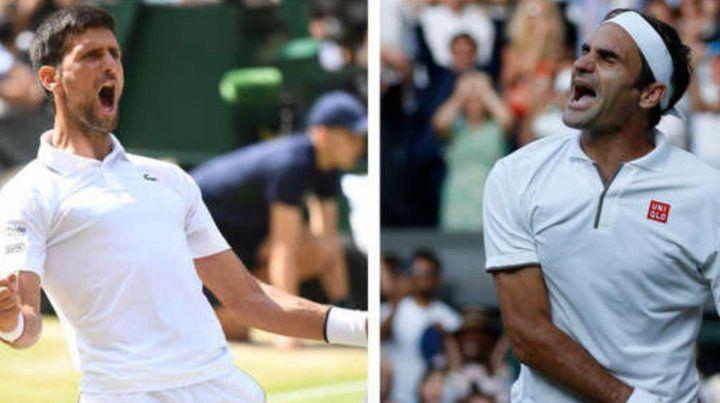 Federer y Djokovic protagonizan la final de Wimbledon
