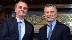 Macri y Bolsonado, juntos
