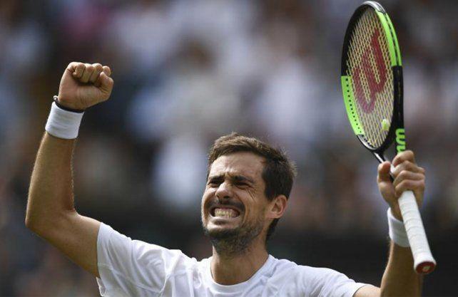 Pella escaló dos puestos después de su actuación en Wimbledon