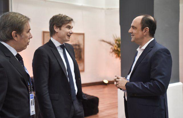 Corral se reunió este lunes con el subsecretario de Relaciones Económicas de Cancillería