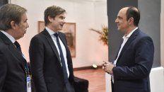 Corral se reunió este lunes con el subsecretario de Relaciones Económicas de Cancillería, Horacio Reyser.