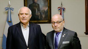 Lifschitz y Faurie dijeron que es un orgullo que la cumbre se realice en la ciudad de Santa Fe.