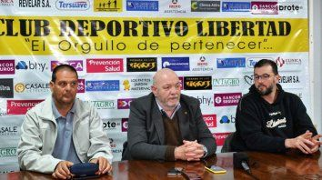 Libertad de Sunchales confirmó su presencia en la Liga Nacional