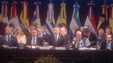 luego de la cumbre, macri encabeza un acto de campana en santa fe