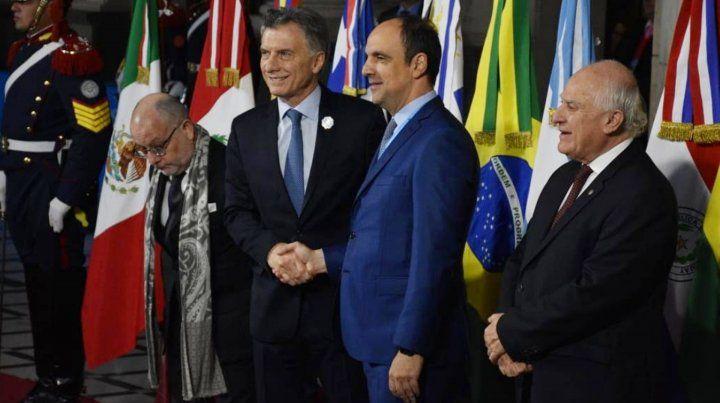 Imagenes de la Cumbre del Mercosur en Santa Fe.