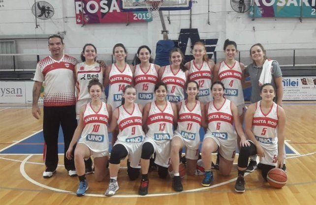Santa Rosa jugará el Final Four del Dos Orillas Femenino