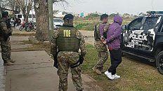 El hombre detenido por el homicidio deJavier Bustos.
