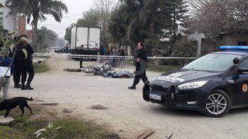 El accidente ocurrió en barrio Nueva Pompeya.