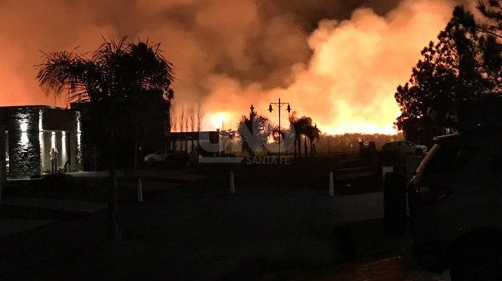 Imágenes del incendio
