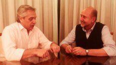 Fernández y Perotti tuvieron un encuentro a solas hace semanas.