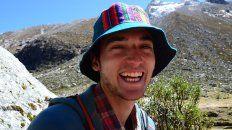 Juan Pablo Cano, el santotomesino de 24 años que persió la vida en un accidente en Perú.