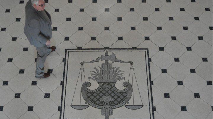 Tribunales santafesinos.