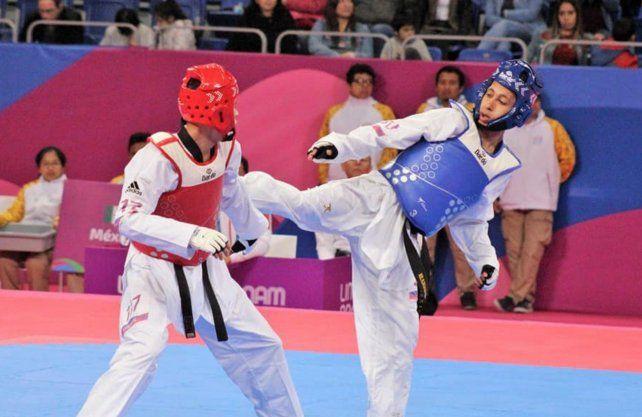 El bonaerense Lucas Guzmán logró oro en Taekwondo.