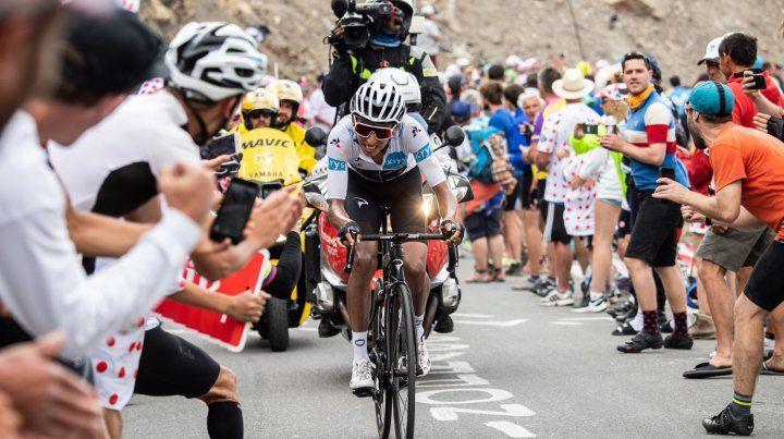 Un colombiano se adjudicó el Tour de Francia