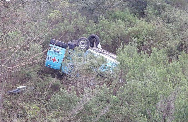 Imágenes del accidente.