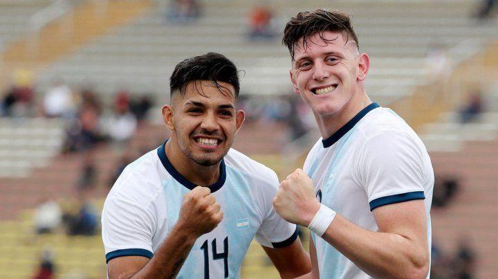 La Selección Argentina debutó con un sufrido triunfo ante Ecuador