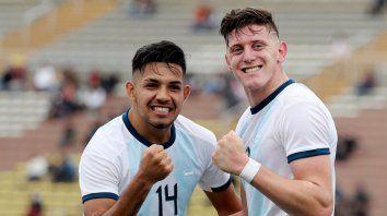 la seleccion argentina debuto con un sufrido triunfo ante ecuador