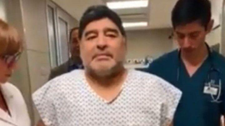 Maradona: Volví a caminar como cuando tenía quince años