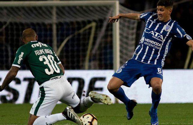 Godoy Cruz va por la hazaña contra Palmeiras