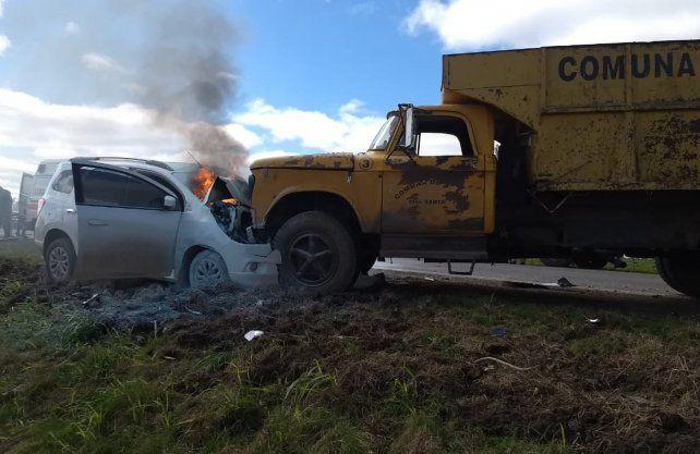 Imágenes del accidente