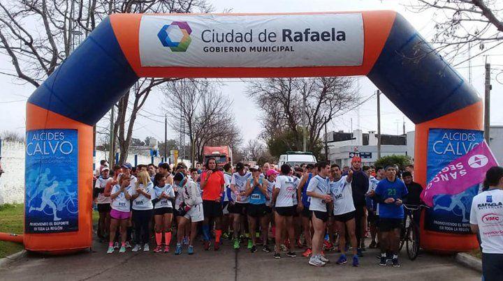 Luis Arias fue tercero en Rafaela