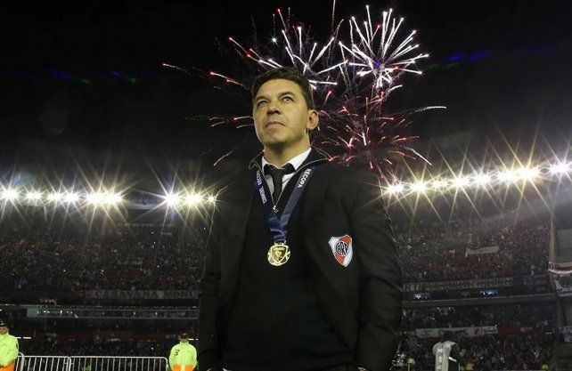 Marcelo Gallardo, nuevamente el rey de América