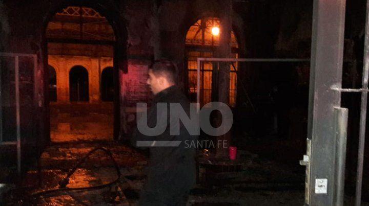 Incendio en el Centro Cultural El Birri