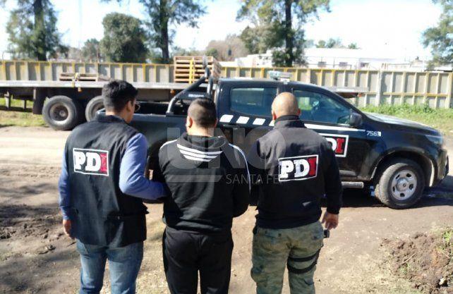 El docente fue detenido en la localidad de Lehmann.