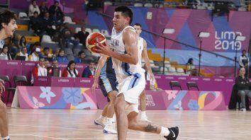 contundente triunfo de argentina en basquet
