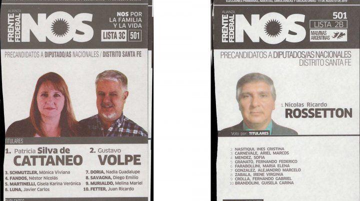 Estas son las 26 boletas entre las que elegirán los santafesinos en las Paso
