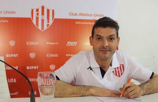 Unión presentó a dos de sus refuerzos para la Liga Argentina