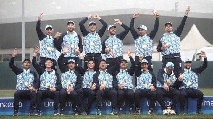 Argentina logró una inédita medalla de oro en sóftbol en Lima 2019