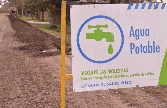 Sauce Viejo: Avanza la obra de Agua Potable