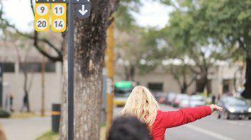 Los carteles indicadores se colocaron en diferentes lugares de la ciudad.