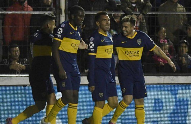 Boca derrotó a Patronato y le dio un gran respiro a Colón