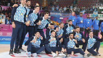 argentina obtuvo el oro en basquet masculino