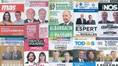 las diez boletas de precandidatos a presidente de la nacion