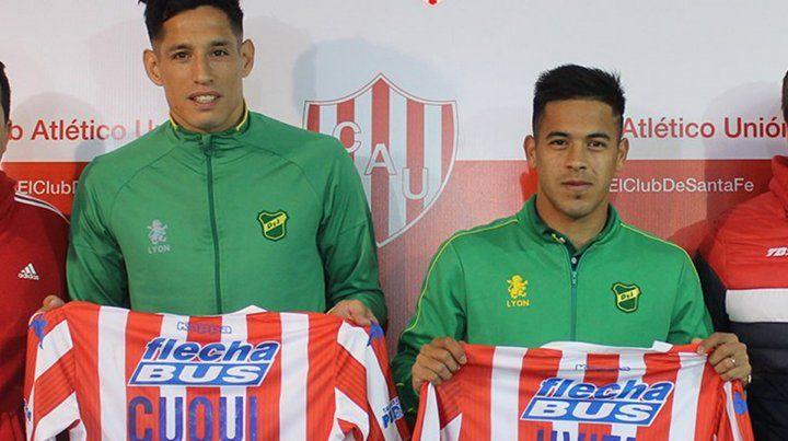 Unión reconoció a Nicolás Fernández y Fernando Márquez