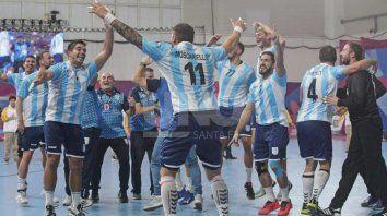 el handball consiguio el oro en lima