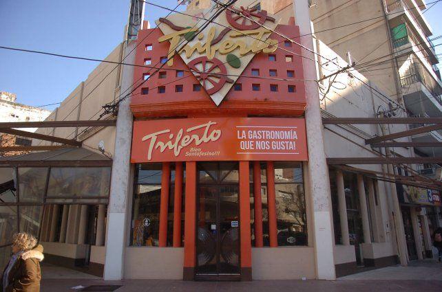 Triferto de San Martín y Santiago, el local más antiguo de la firma santafesina.
