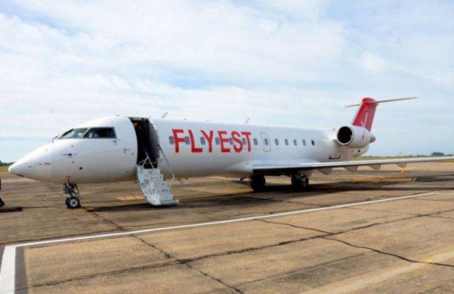 La aeronave de Flyest que conectará Reconquista con Buenos Aires.