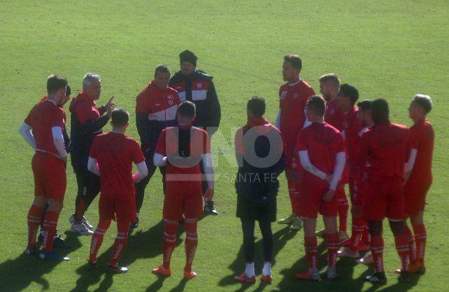 Unión no se relaja y se prepara para disputar un amistoso ante Sarmiento