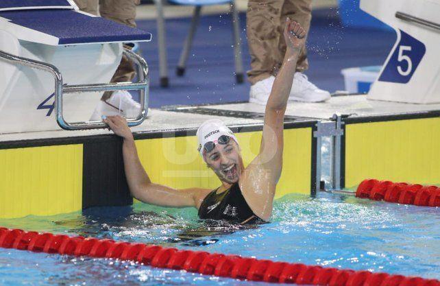 Muchas medallas logró la natación