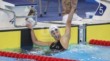 muchas medallas logro la natacion