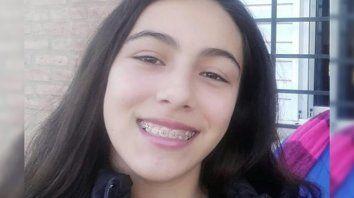 Florencia, de 15 años falta de su casa en Rafaela.